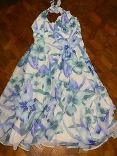 Halter chiffon dress ❤