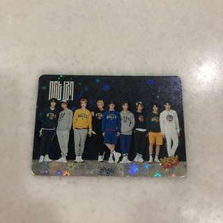 NCT 127 Shining Photocard