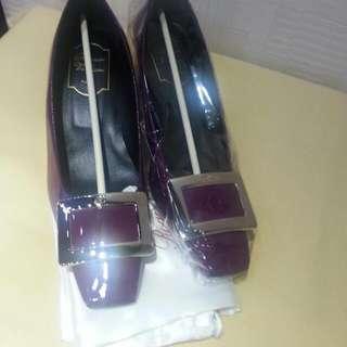 Rv 2吋紫漆皮高踭鞋