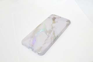 White Holo Marble iPhone 6/6s Case