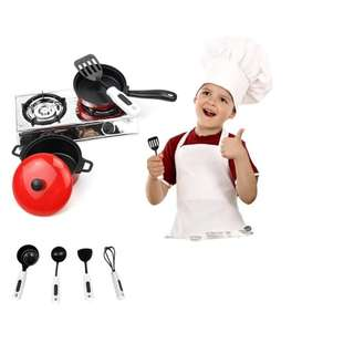 Fun Kitchen Cookware Playset