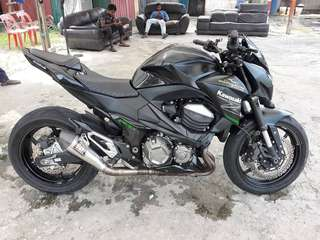 kawasaki z800 continue loan