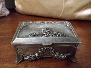 Antique jewelry storage