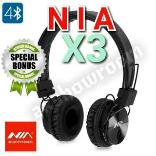 Rave Reviews - NIA Flagship Model X3. Free Gift With Every Purchase. Sky Blue.