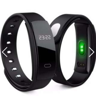 QS80 Wristband Heart Rate Monitor Blood Pressure Smart Bracelet Watch For Andriod And iOS