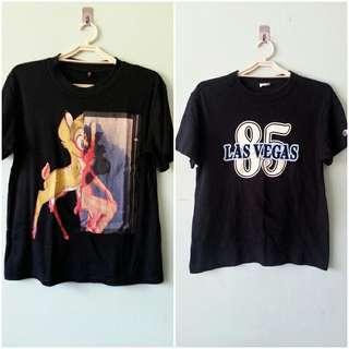 B1T1 Black Vintage Shirts