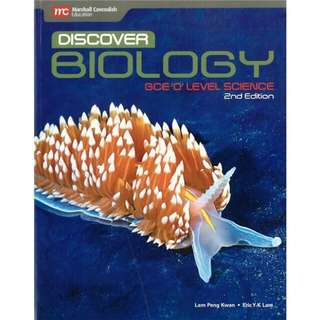 🚚 Discover Biology GCE O Level Science 2nd edition