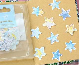 🚚 Starry Starry Scrapbook / Planner Stickers #128