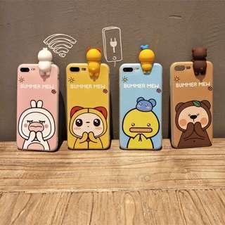 可愛卡通iPhone手機殼