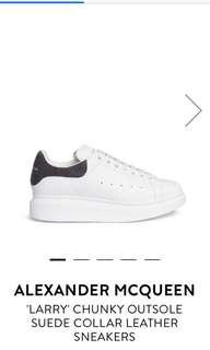"""⭐️Pre-Order⭐️Alexander McQueen """"Larry"""" Sneaker (男女裝同價)"""