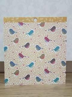 "American Crafts 6x6"" Scrapbooking Paper (Birds)"