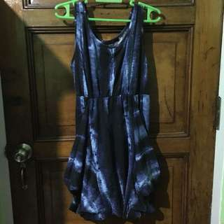 Folded and Hung dress
