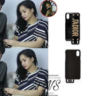 DIOR soft case iphone 7+ /8+ look alike Nagita Slavina mau liat real video whatsapp aku aja!