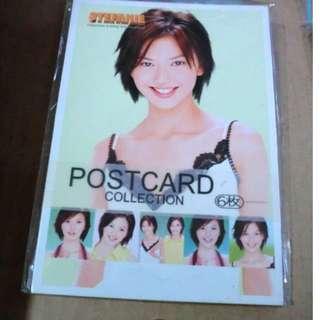 包郵 特價 一套6張 明信片 POSTCARD - 孫燕姿 / 趙薇 / 林心如