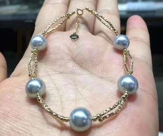 真多麻海水珍珠手鍊
