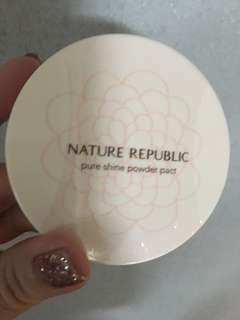 Nature Republic pure shine compact powder