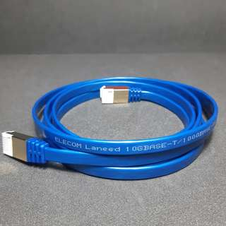 Elecom Laneed CAT 7 1M/2M 10GBase Ethernet RJ-45 Flat Network Cable