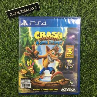 [NEW] PS4 CRASH BANDICOOT - (GAMEZMALAYA)