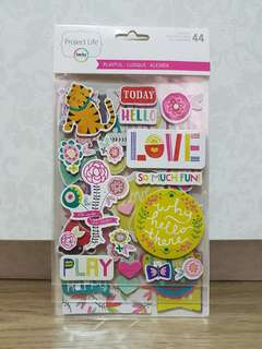 Project Life 'Playful' Stickers