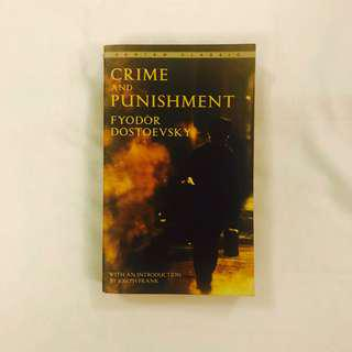 Crime & Punishment, Fyodor Dostoevsky