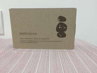Innisfree - jeju volcanic care 3 step kit