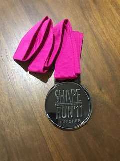 🚚 Shape run 2011 medal
