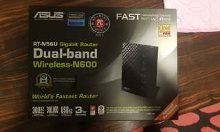 Wifi router dual band Asus RT-N56U