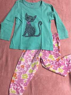 18mo cat sleepsuit