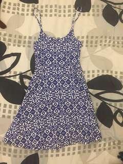 H&m blue dress