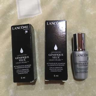 Authentic Lancome Advanced Genefique Yeux Eye Illuminator Youth Activating Concentrate