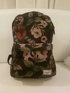 ORIGINAL HERSCHEL BACKPACK floral camo green