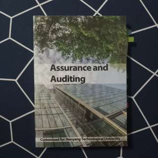 AC2104 Assurance and Auditing Textbook