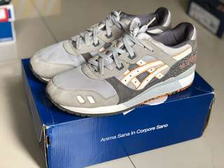 ASICS GEL LYTE III H52NK 25 anniversary soft grey - Limited edition