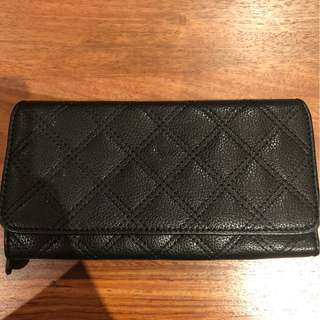 Rush Black Quilted Purse/Clutch