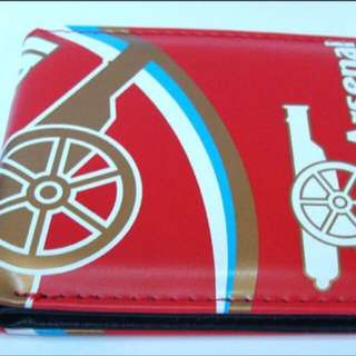 🚚 Arsenal Red Wallet Free Mailing