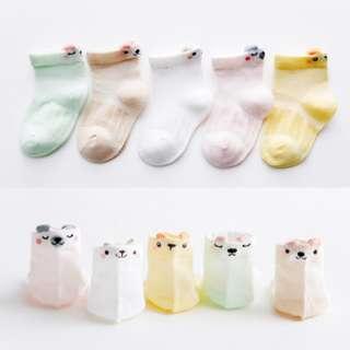 Cute Animal Baby Socks