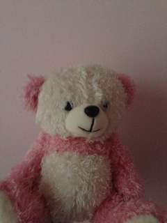 Pink teddy bear for kids & babies