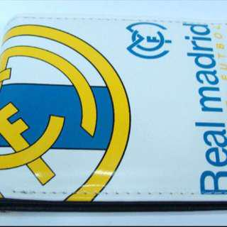 🚚 Real Madrid White Wallet Free Mailing