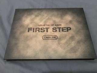 CNBLUE Fisrt Step 專輯