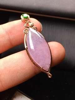 粉紫羅蘭吊咀