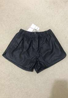 SUPRE PU leather shorts BNWT