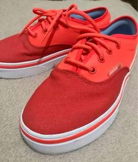 Reebok Orange shoes