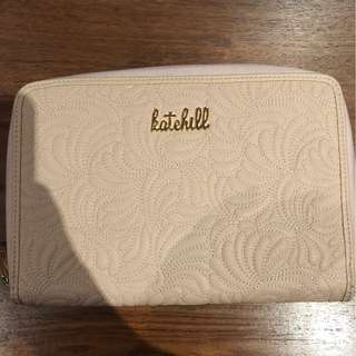 Kate Hill Baby Pink Oversized Purse/Clutch