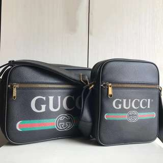 Gucci Print Messenger/Shoulder Bag (Just look at the price without looking at quality.Please bypass,Tq)