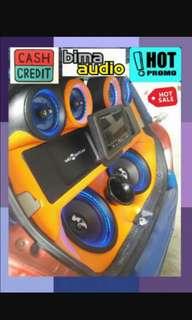 Melayani credit  paket audio mobil