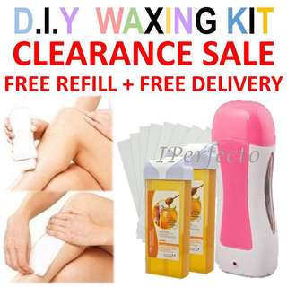 🚚 Full Set Hair Removal Waxing Kit
