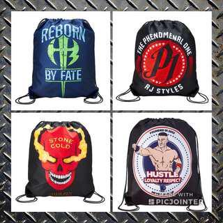 🚚 WWE Drawstring Bag Free Mailing