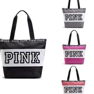 New Victoria Secret Pink Waterproof Gym / Beach / Duffle Bag