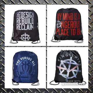 🚚 WWE The Shield Drawstring Bag Free Mailing