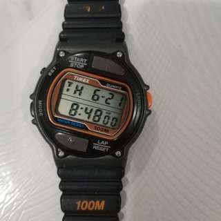 Vintage timex running watch